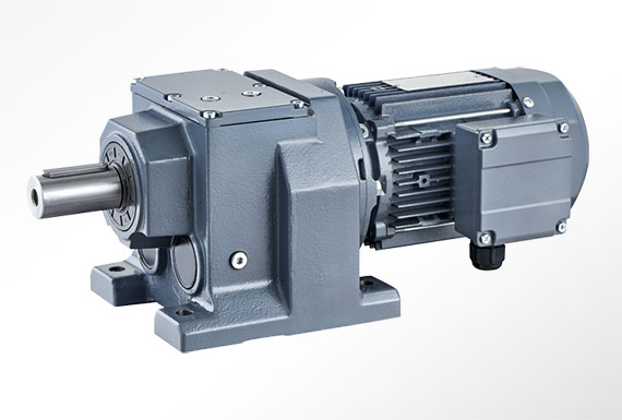 Cast iron helical gearbox