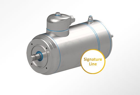 Signature line motors with encoder SL3ENSS